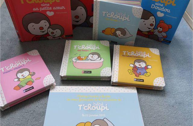 Des livres de Tchoupi pour les bébés et pour dire je t'aime !