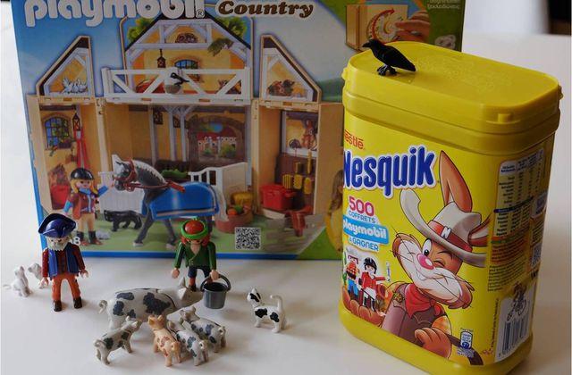 Dingues de Playmobil, jouez avec Nesquik ! {concours}