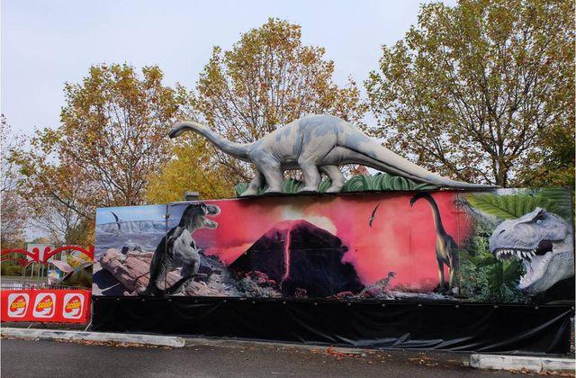 Le monde des dinosaures à Lyon