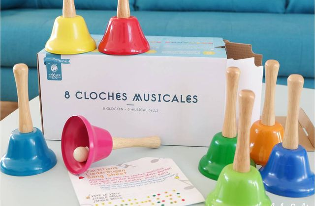 Eveil musical : cloches Montessori