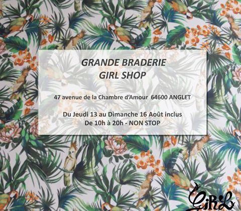 BRADERIE GIRLSHOP