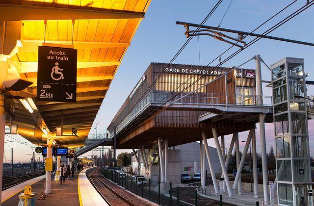 AREP - Gare de Créteil Pompadour