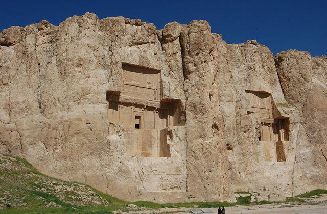 Naqsh-e Rostam - Bas-reliefs - Iran