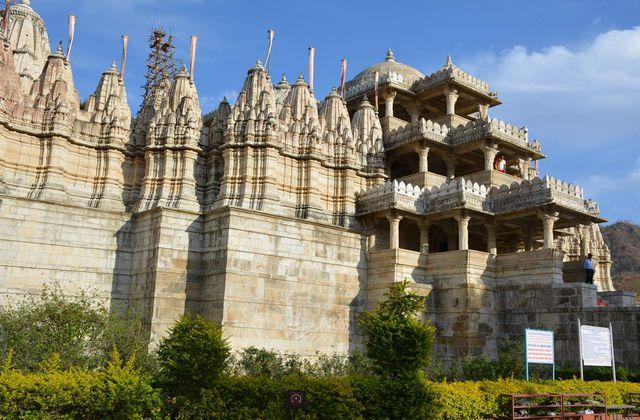 Le temple d'Adinatha - Ranakpur