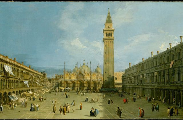 Canaletto - Place Saint-Marc Venise
