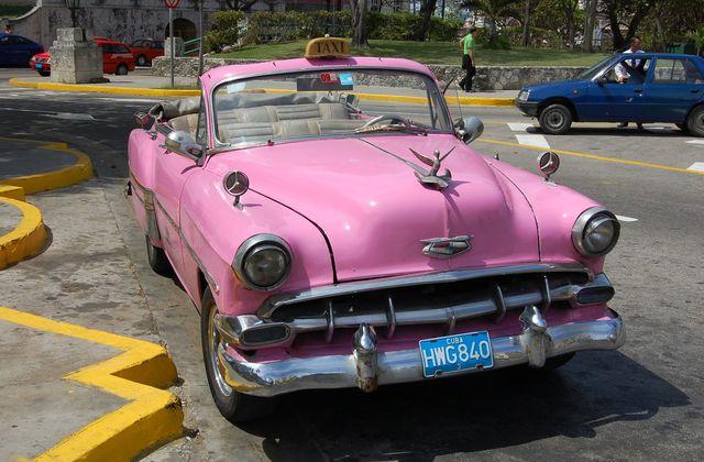 La Havane - Voitures et architectures