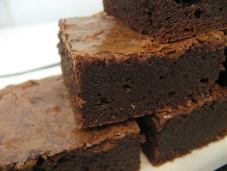 Recette - Brownies Choco-Compote