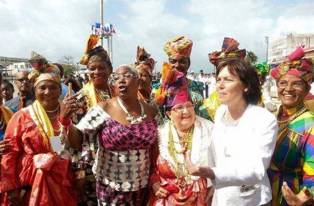 Annick GIRARDIN en  Guadeloupe