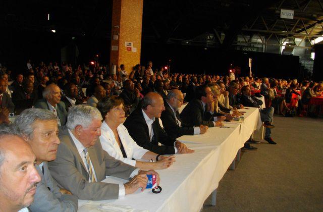 Les partenaires du PS présents au congrès de Poitiers