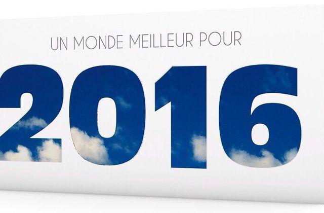 Vœux Ecologiques pour 2016