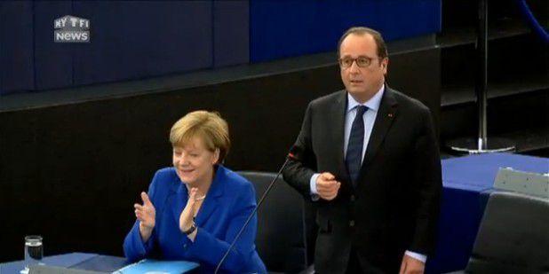 François Hollande souverainiste (européen)