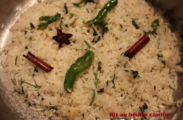 Riz au beurre clarifié (ghee rice)