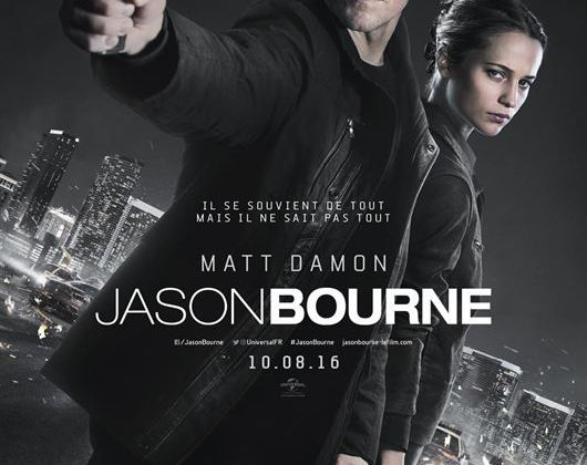 JASON BOURNE – MATT DAMON