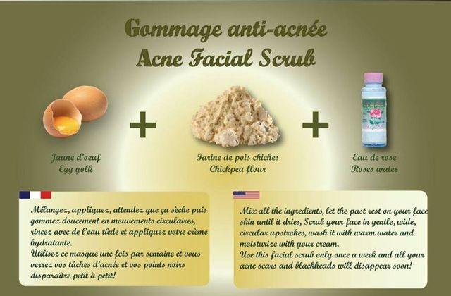 Masque très efficace contre les tâches et cicatrices et qui illumine la peau !