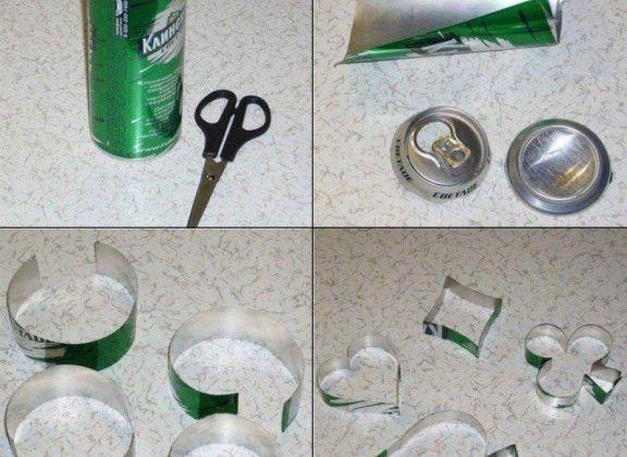 Préparez vous même des moules pour cookies grâce à cette astuce simple