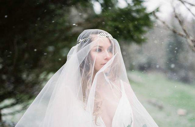 Winter Wedding Inspiration - Shooting Mariage d'hiver