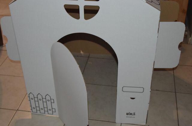On a testé.... La maison en carton de Wiplii.com (Concours Inside)