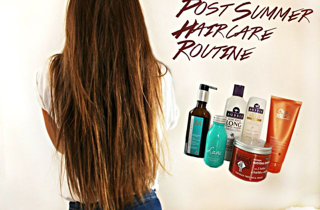 Post Summer Hair care Routine