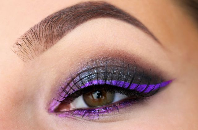 Cat eyes Black & Purple