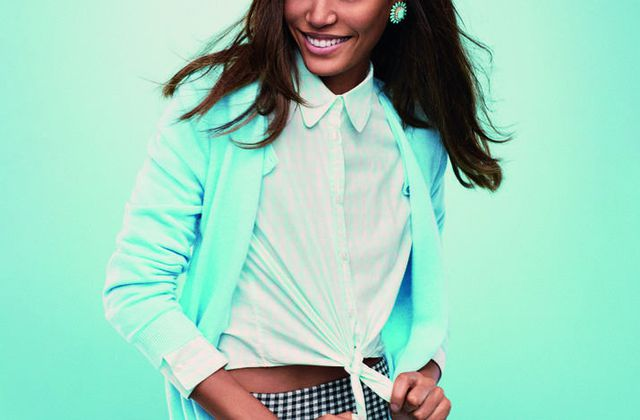 JOAN SMALLS NEW FACE OF BENETTON