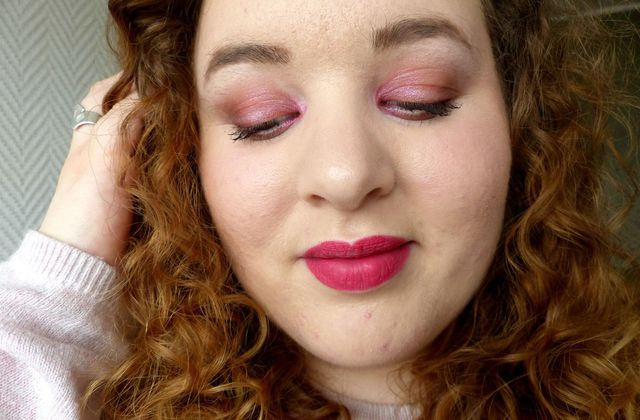 Monday Shadow Challenge : Le Rose Fushia