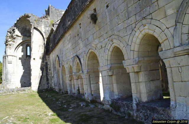 Abbaye cistercienne Notre-Dame de Boschaud à Villars en Dordogne