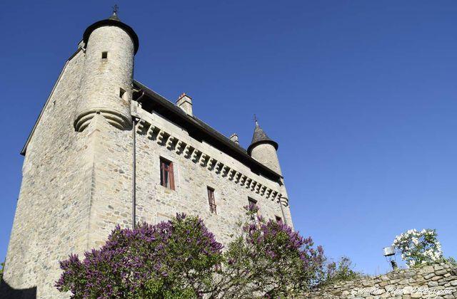 Château de Sainte-Fortunade en Corrèze