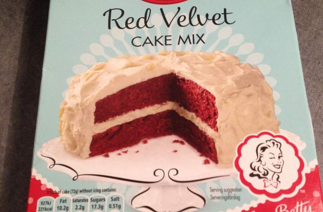 Test Red Velvet Cake Mix