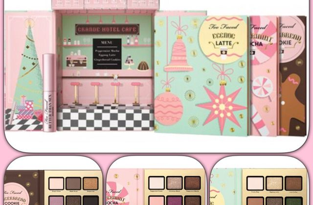 Christmas in New York de Too Faced : Grande hotel café