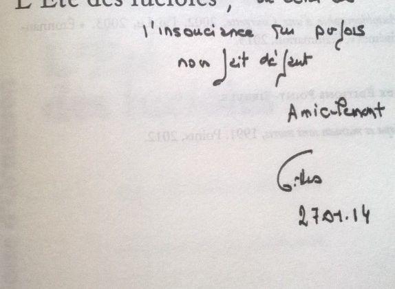 """""""L'été des lucioles"""" de Gilles Paris"""