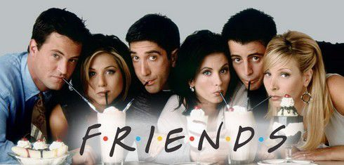 """""""Friends"""" a 20ans, cheers!!!!"""