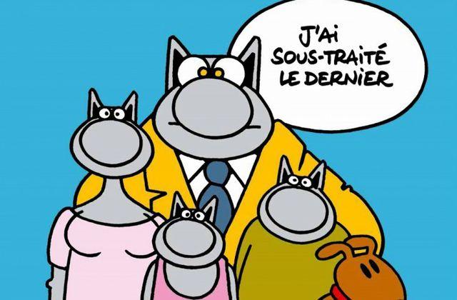 """""""Le Chat fait des petits"""" de Philippe Gelluck"""