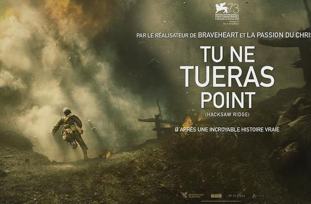 """Tu ne tueras point"": la force de la conviction"