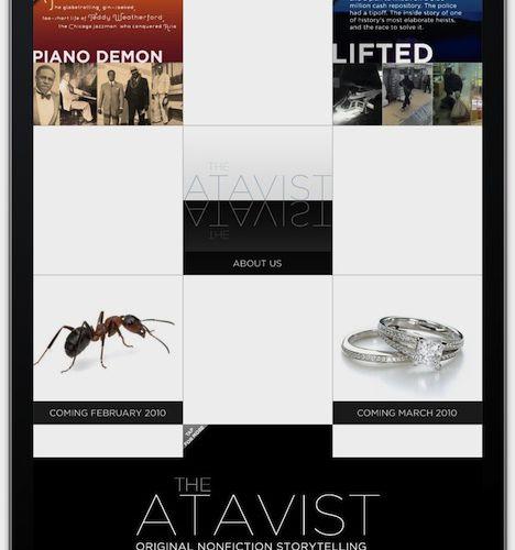 The Atavist : des contenus longs... et payants sur Internet