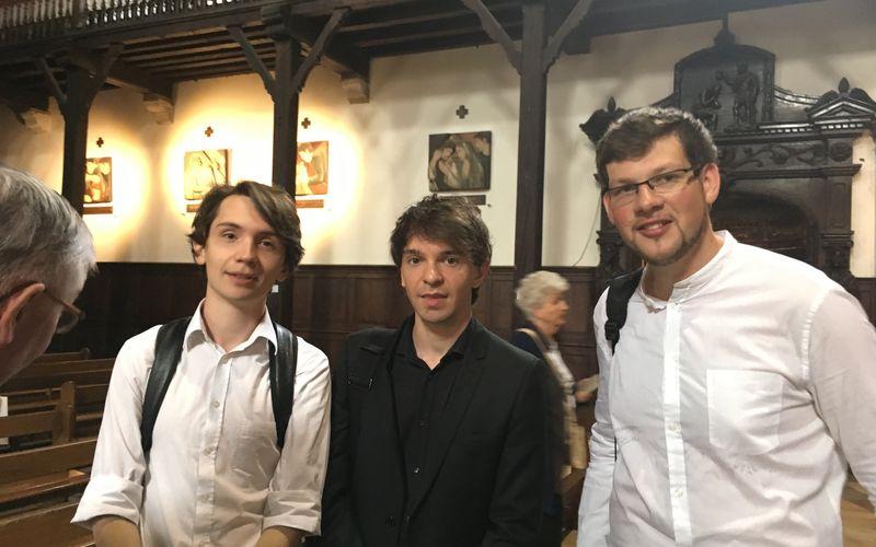 D'excellents jeunes organistes du CNSM de Paris