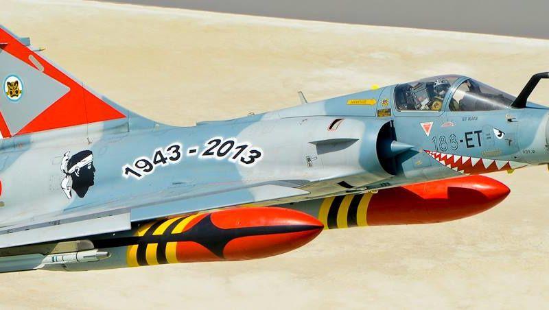 """70 ans pour l'Escadron de Chasse 3/11 """"Corse"""""""