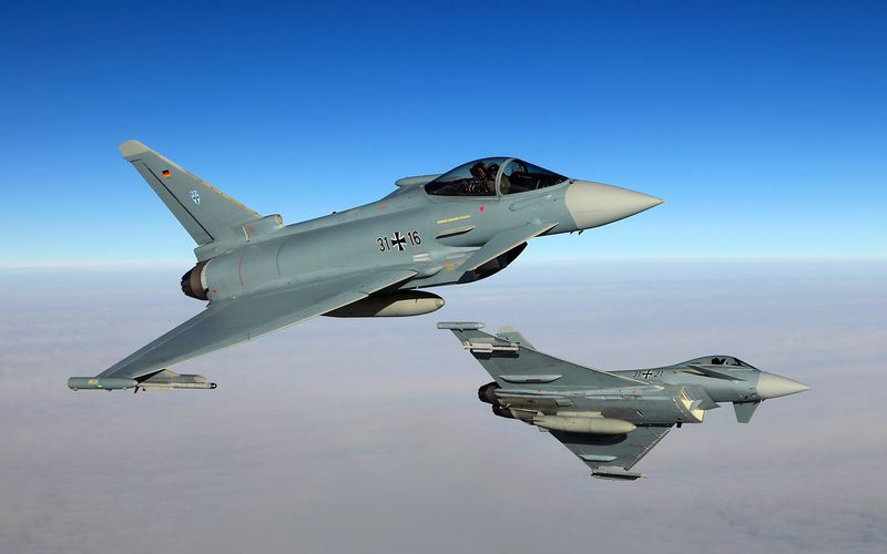 L'Allemagne annule la livraison de 37 Eurofighter Typhoon