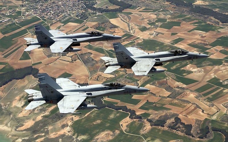 Un escadron espagnol et grec pour le Recce Meet 2014