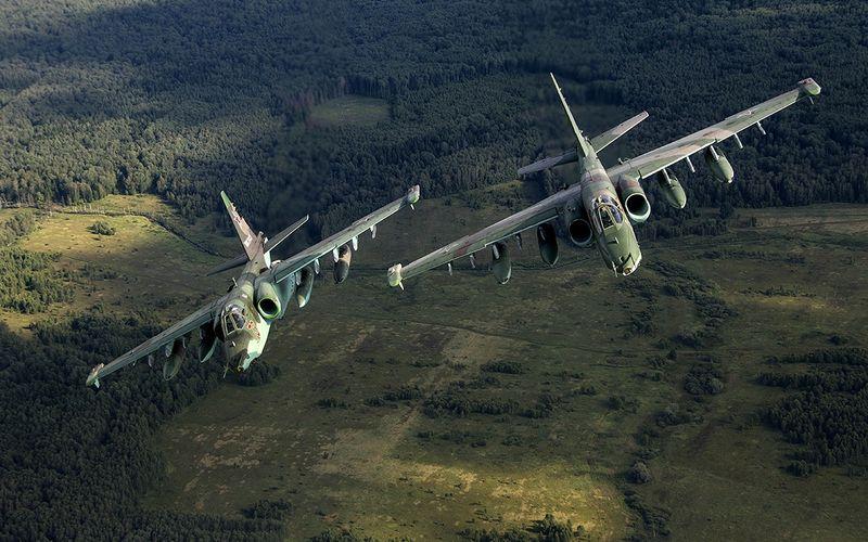 L'Irak reçoit des avions russes d'attaque au sol Su-25 Frogfoot