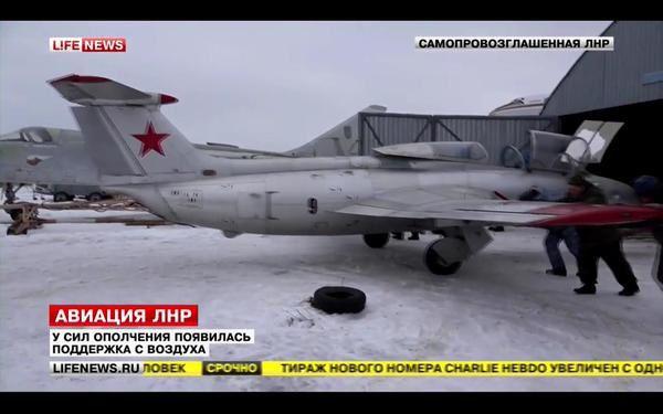 L'Ukraine a détruit des avions et des hélicoptères qui étaient aux mains des séparatistes pro-russes