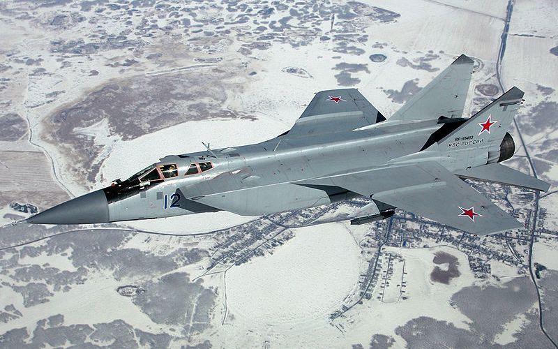 L'Armée de l'Air russe va garder en vol ses Mig-31 jusqu'en 2026