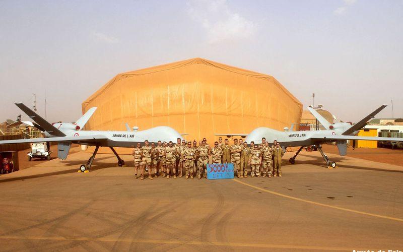 Les drones MQ-9 Reaper de l'Armée de l'Air ont effectué plus de 5 000 heures de vol