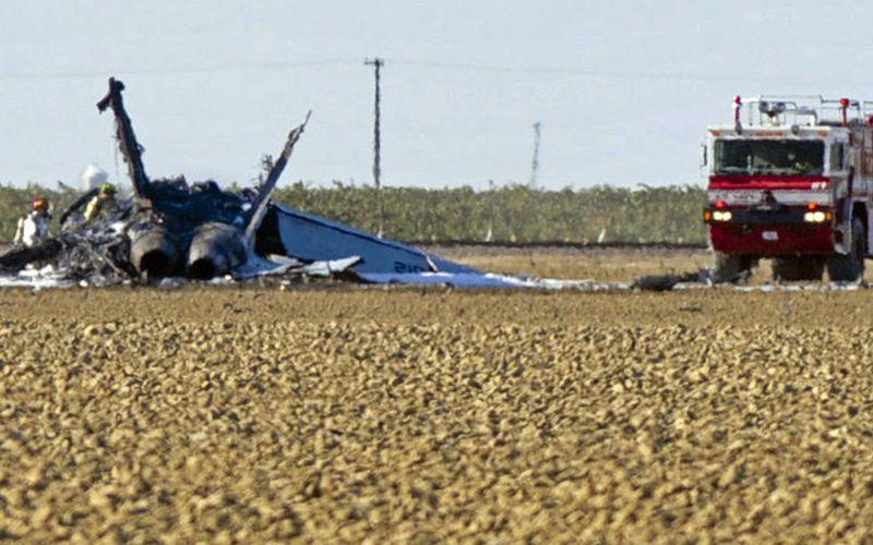 Un F/A-18E Super Hornet s'est écrasé en Californie