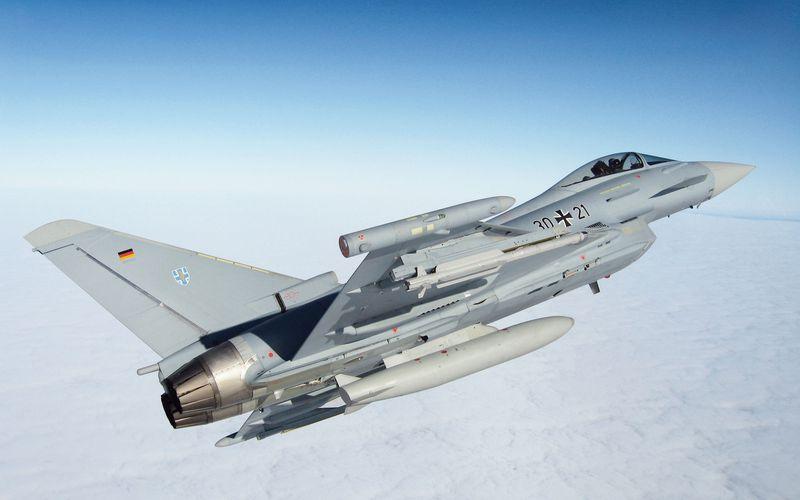 Les Eurofighter Typhoon allemands ne peuvent plus emporter de réservoirs externes
