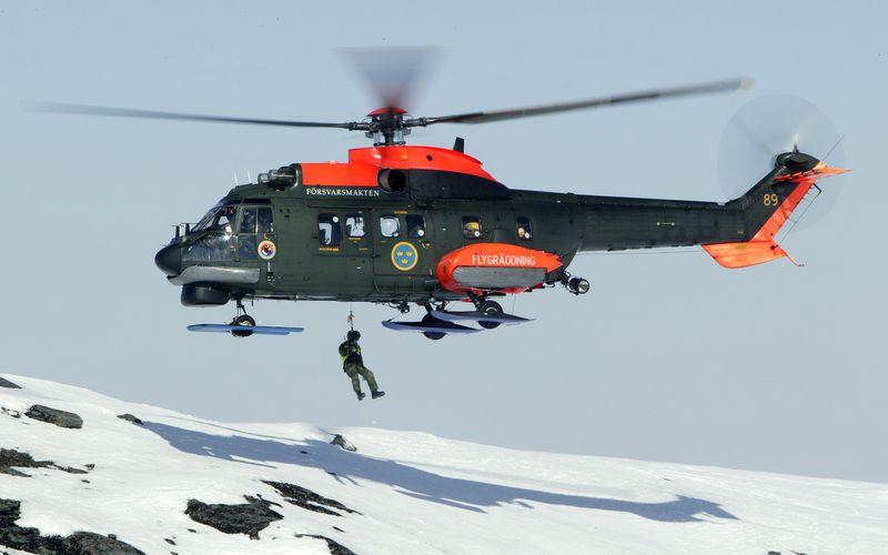 La Suède met fin à la carrière de ses hélicoptères Super Puma