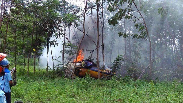 Un T-50i Golden Eagle indonésien s'est écrasé lors d'une démonstration aérienne