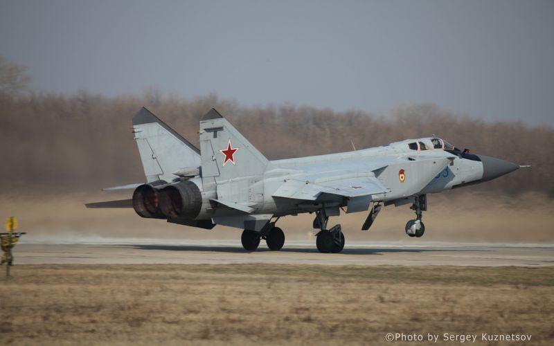 Un Mig-31 Foxhound s'est écrasé en Russie