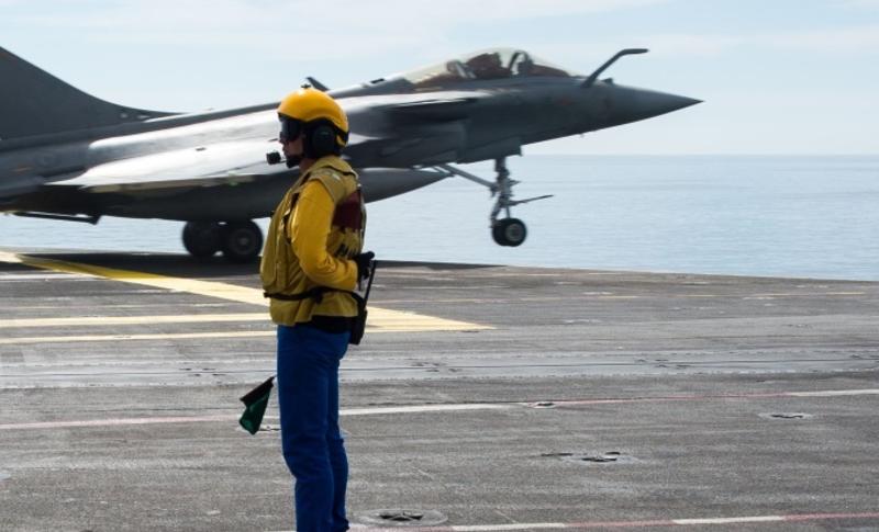 Le Groupe Aéronaval français s'entraîne avec les forces armées égyptiennes