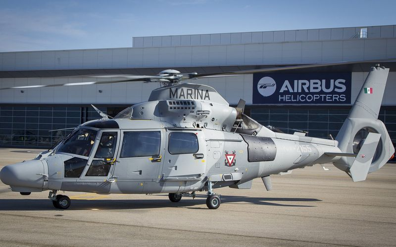 La Marine Mexicaine reçoit son premier hélicoptère AS565 MBe Panther