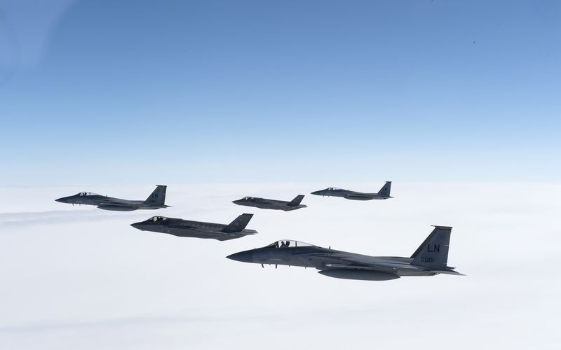 Les F-35A Lightning II de l'US Air Force ont quitté l'Europe